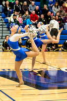 2012.11.27 Oshkosh West JV Dance Team