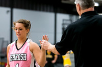 2013.02.06 UW Oshkosh Women's Basketball